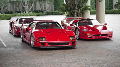A bord de bolides nommés Ferrari