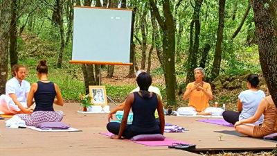 Pause méditation et randonnée