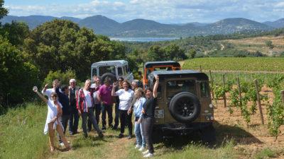 Wine tour en land Rover Defender