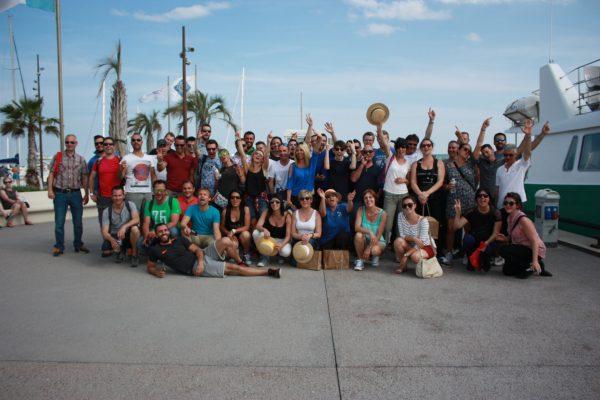 Photo de Groupe à St Tropez