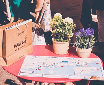Road book et carte en papier recyclé