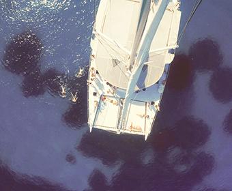 Escapade en Catamaran au large des iles de Hyères