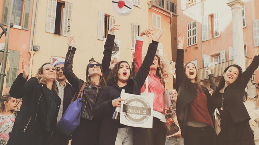 Rallye pédestre dans la vieille ville de Grasse