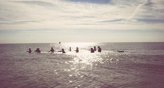 Randonnée pédestre aquatique en Méditerranée